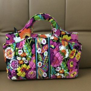 NWOT Vera Bradley Abby Tote Bag Va Va Bloom